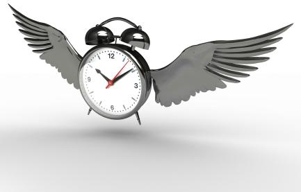 time flies – 時が経つのは早いもので。